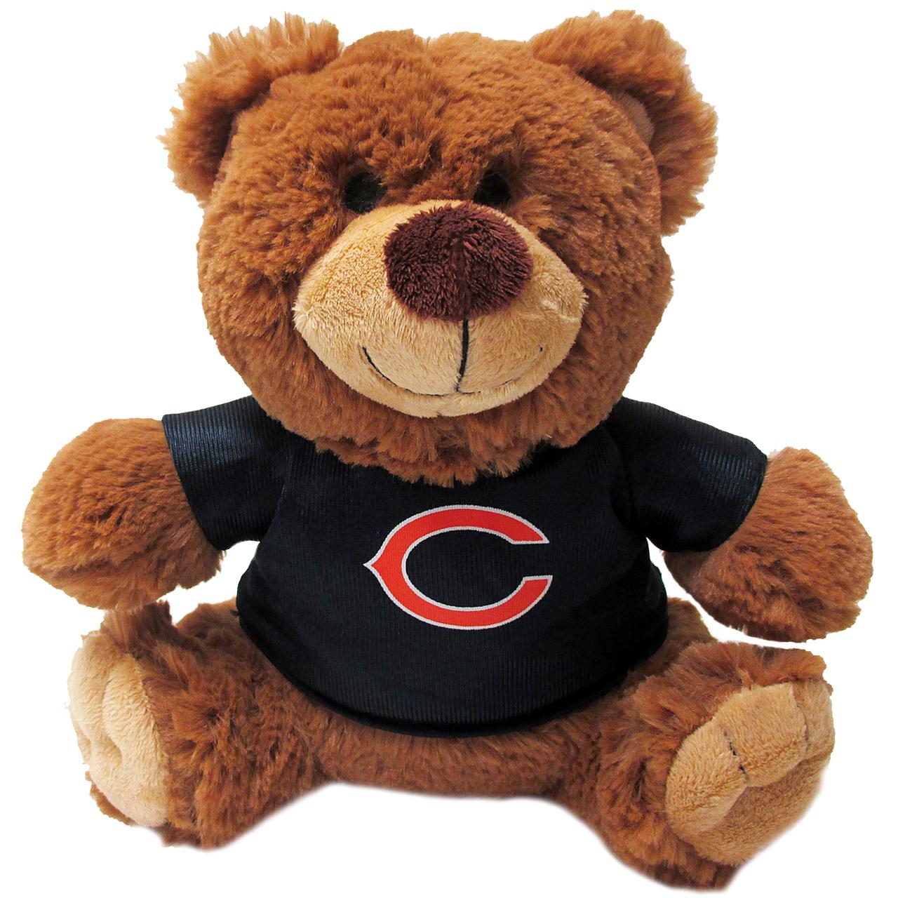 Hot Dog Chicago Bears NFL Teddy Bear Dog Toy