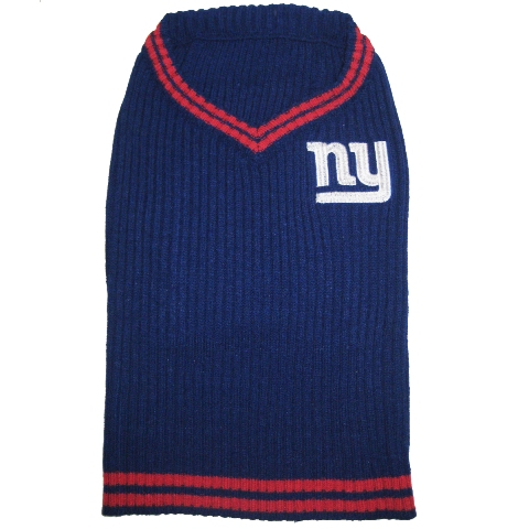 Hot Dog New York Giants NFL Football Pet/ Dog Sweater
