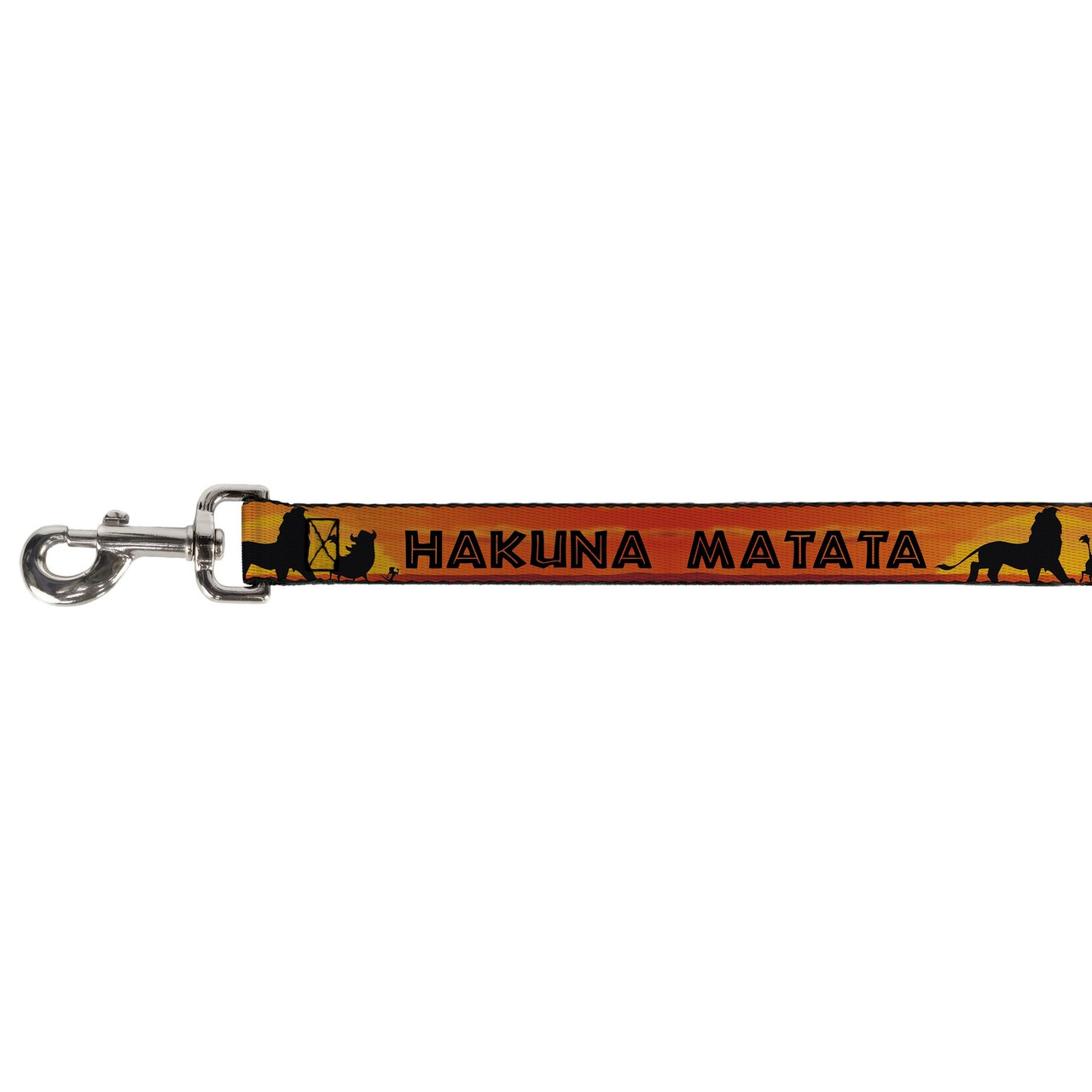 Hot Dog Lion King Hakuna Matata Simba Buckle Down Dog Leash