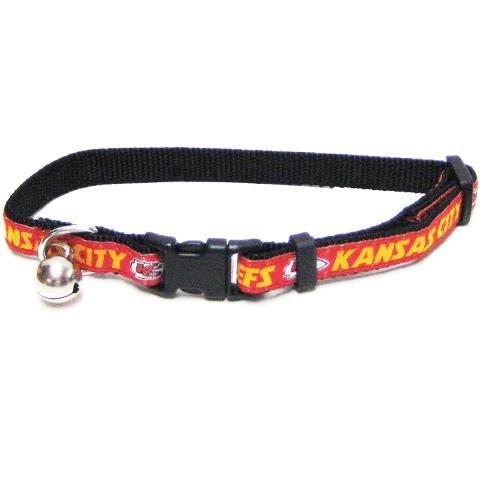 Kansas City Chiefs CAT Collar KCC-5010