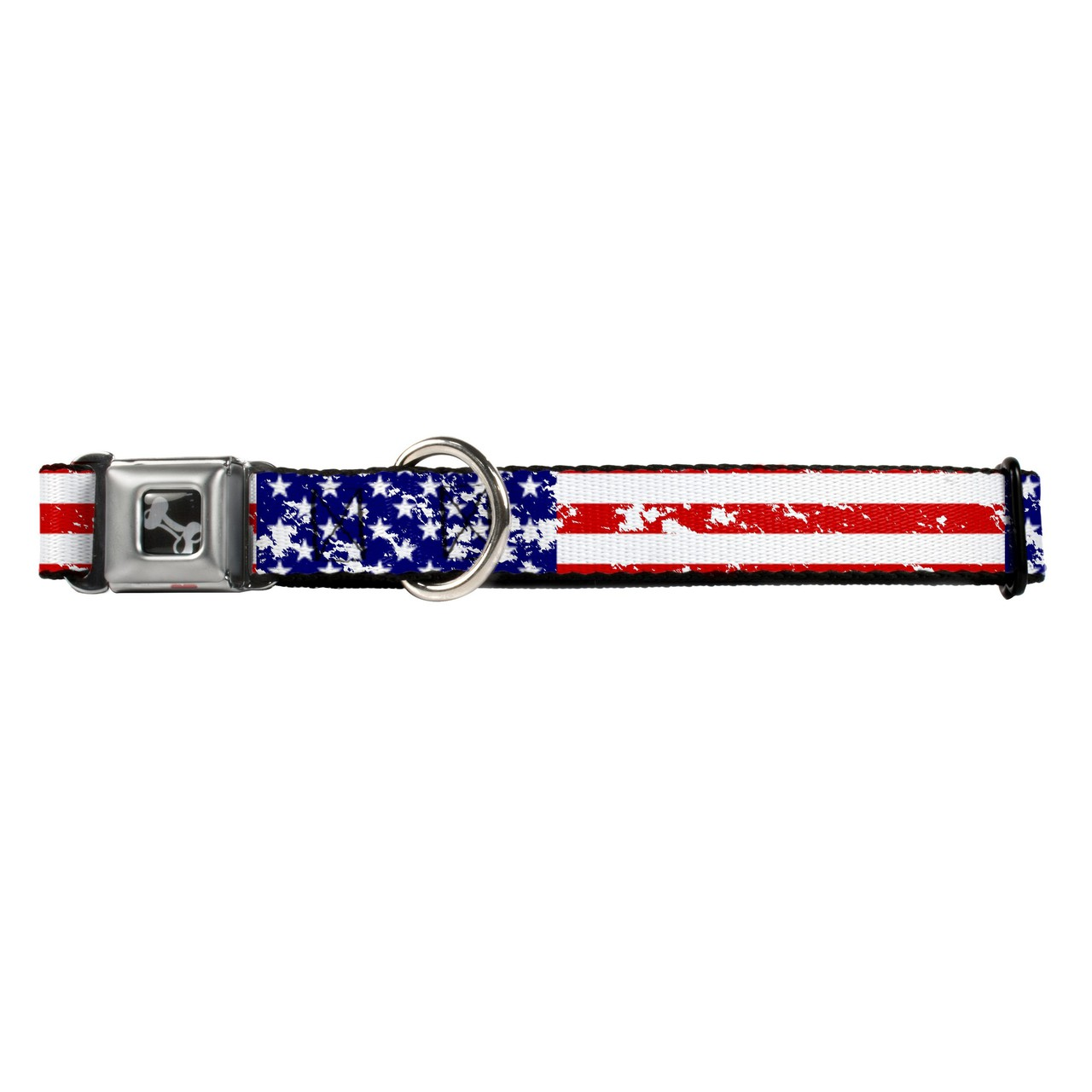 Hot Dog United States Flag Buckle-Down Seat Belt Buckle D...