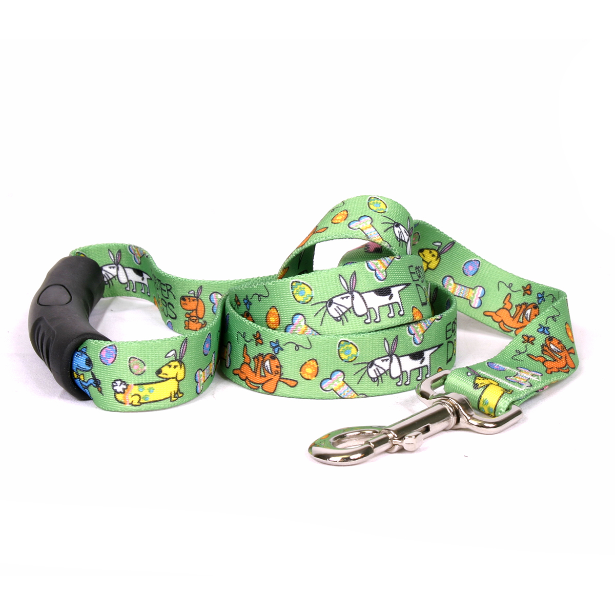 Yellow Dog Easter Dogs EZ-Grip Dog Leash