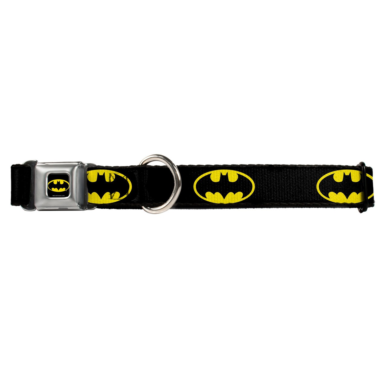 Hot Dog Batman Shield Black and Yellow Buckle-Down Seat B...