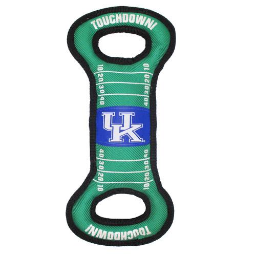 Hot Dog Kentucky Football NCAA Field Tug Dog Toy