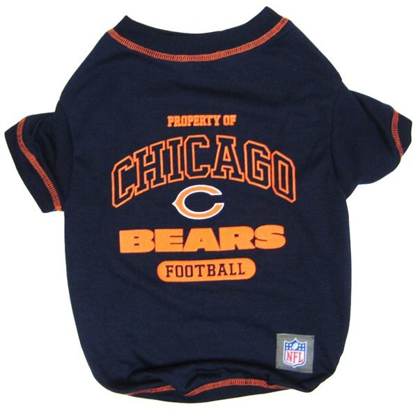 Hot Dog Chicago Bears NFL Football Pet/ Dog T-Shirt