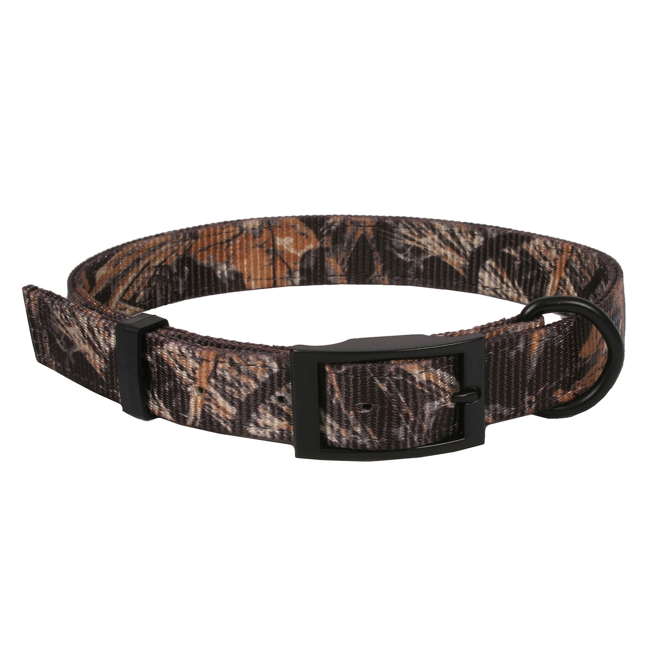 Hot Dog Real Tree Max4 Camouflage Buckle Dog Collar