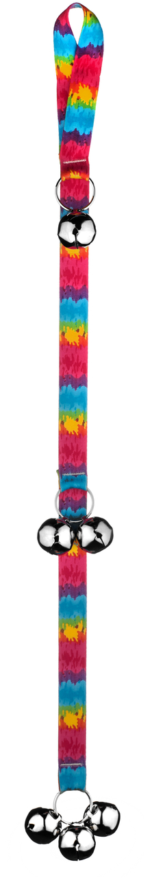 Yellow Dog Tie-Dye Ding Dog Bells Potty Training System