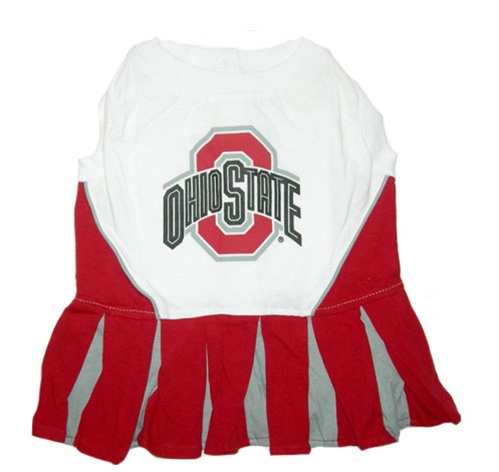 Ohio State Buckeyes Dog Cheerleader Outfit OH-4007-XS