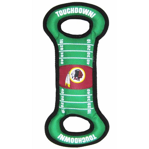 Hot Dog Washington Redskins NFL Field Tug Dog Toy