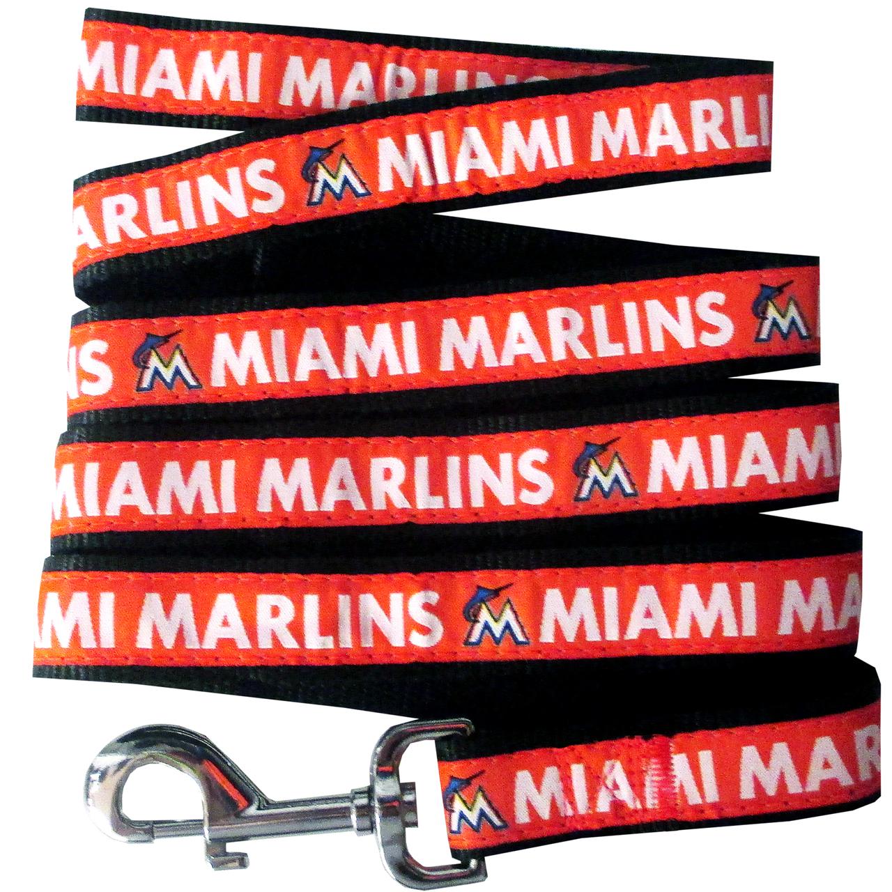 Hot Dog Miami Marlins Dog LEASH