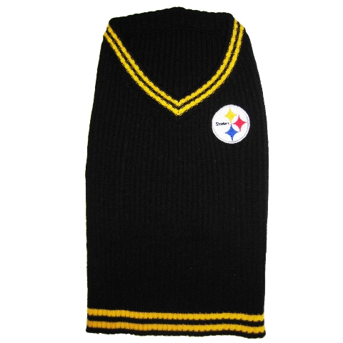 Hot Dog Pittsburgh Steelers NFL Football Pet/ Dog Sweater