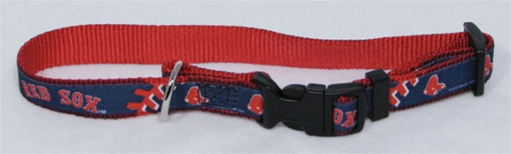 boston-red-sox-premium-pet-dog-collar