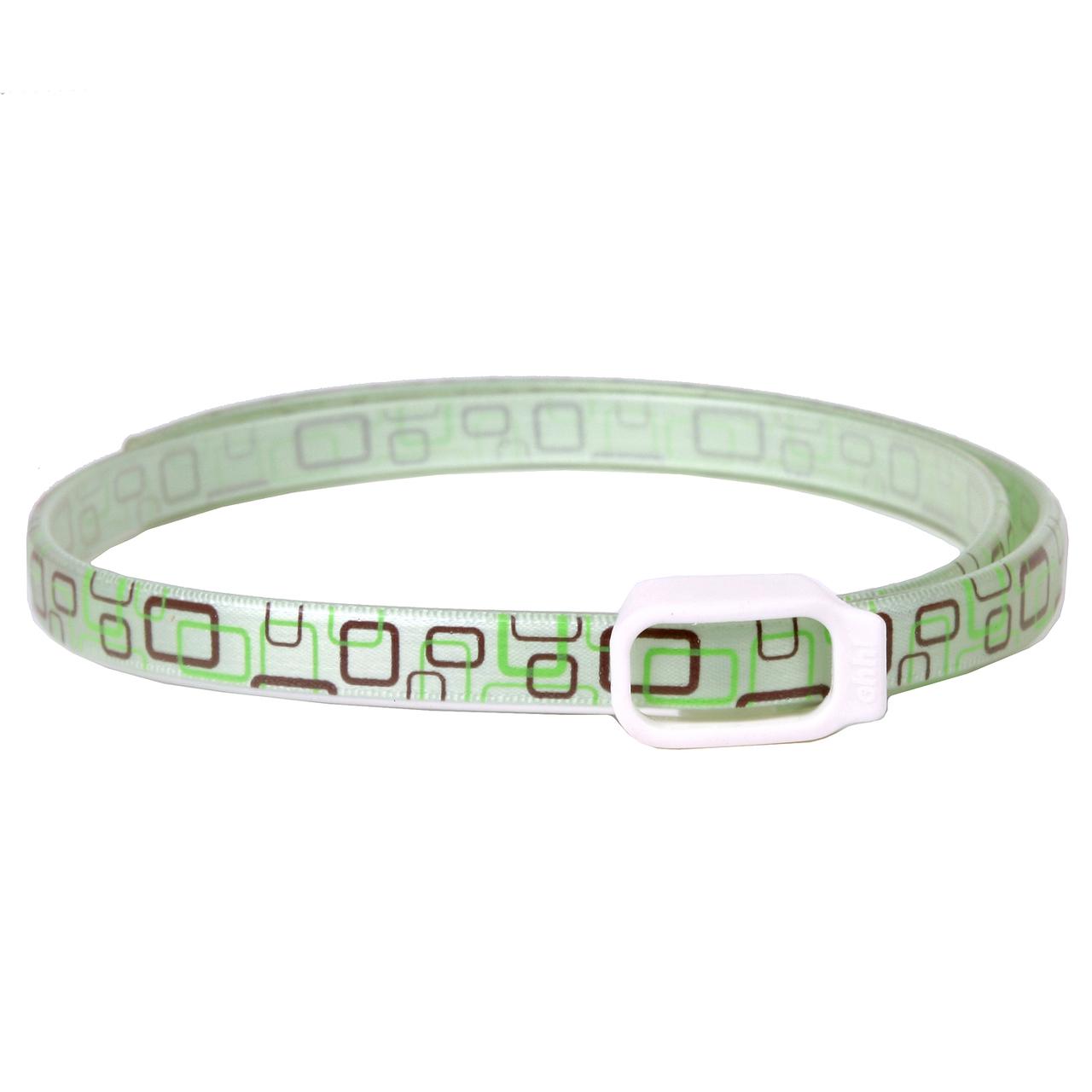 Essential Oils Dog Collar - Green Geometric