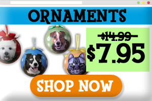 Dog breed ornaments on sale