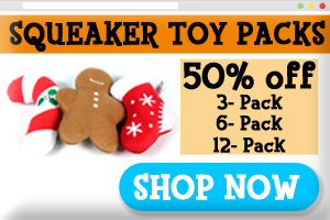 Squeaky Dog Toy Discount Packs On Sale
