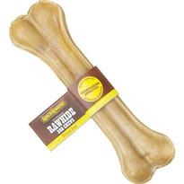 Premium Pressed Rawhide Dog Bones - 8 inch