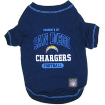 Los Angeles Chargers NFL Football Pet T-Shirt