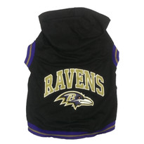 Baltimore Ravens NFL Football Dog HOODIE