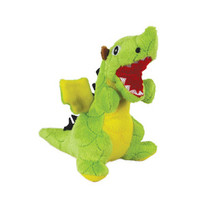 Green Dragon Jr Mighty Dog Squeaker Toy