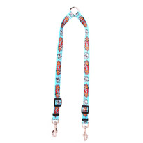 I Luv My Dog Blue Coupler Dog Leash