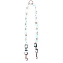 Daisy Chain Blue Coupler Dog Leash
