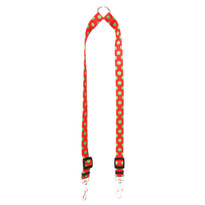 Christmas Polka Dot Coupler Dog Leash