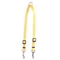 Chevron - Lemon Coupler Dog Leash