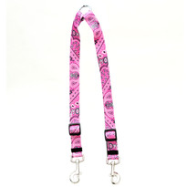 Bandana Pink Coupler Dog Leash