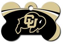 U of Colorado Buffalos Engraved Pet ID Tag