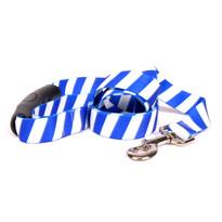 Team Spirit Royal Blue and White EZ-Grip Dog Leash