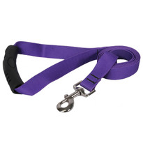 Solid Purple EZ-Grip Dog Leash
