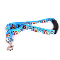 Santa and Snowman EZ-Grip Dog Leash