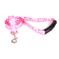 Island Floral Pink EZ-Grip Dog Leash