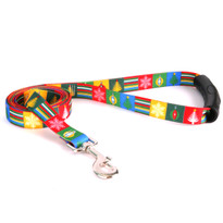 Holiday Blocks EZ-Grip Dog Leash