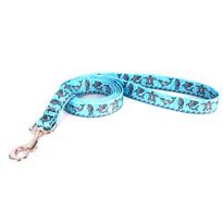 Tribal Seas Blue Dog Leash