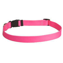 Solid Pink Dog Collar