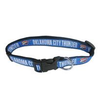 OKC Thunder Dog Collar