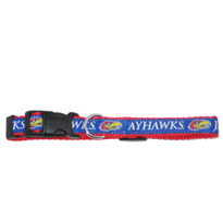 Kansas Jayhawks Dog Collar