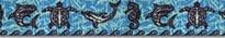 Tribal Seas Blue Waist Walker