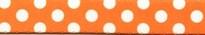 Tangerine Polka Dot Waist Walker