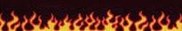 Red Flames Waist Walker