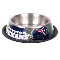 Houston Texans Stainless Steel NFL Dog Bowl