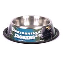 Jacksonville Jaguars Stainless Steel NFL Dog Bowl