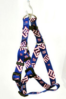 New York Giants Step-In Dog Harness