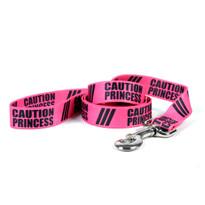 Caution Princess Dog Leash