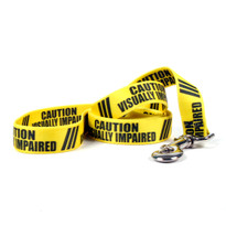 Caution Visually Imparied Dog Leash
