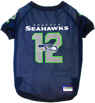 Seattle Seahawks 12th Man NFL Football Pet Jersey