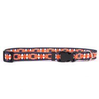 Chicago Bears Argyle Dog Collar