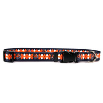 Cincinnati Bengals Argyle Dog Collar
