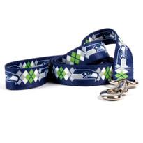 Seattle Seahawks Argyle Dog Leash